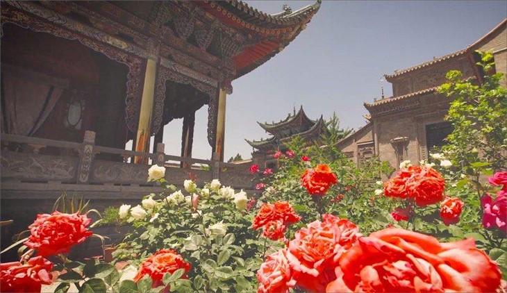 <纸牌屋>摄影师航拍展现中国古今之美