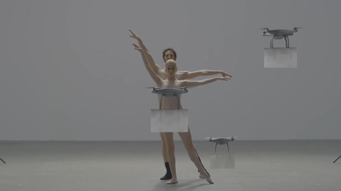 日本魔性大尺度创意广告《无人机的友好审查》