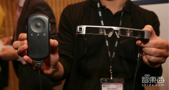EPSON最新AR眼镜 你想用它开无人机吗?