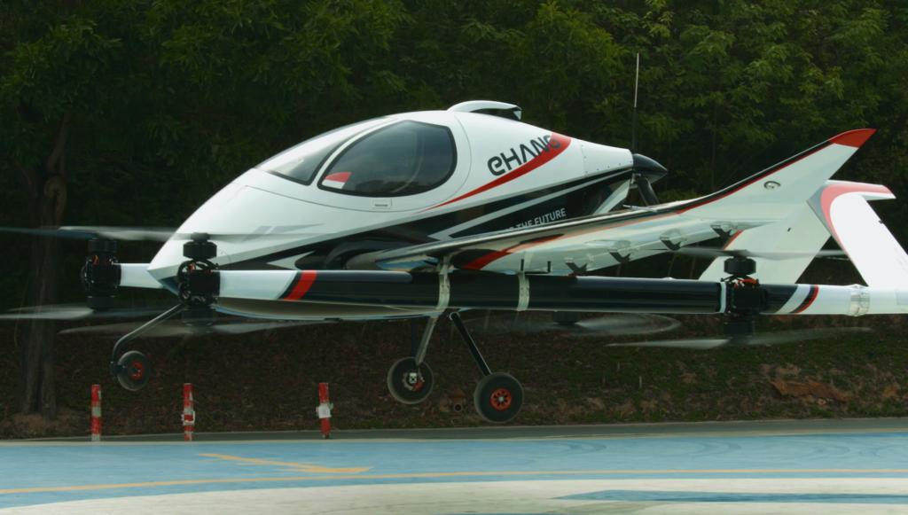 亿航推长航距载人自动驾驶飞行器VT-30 专为城际间空中交通而设